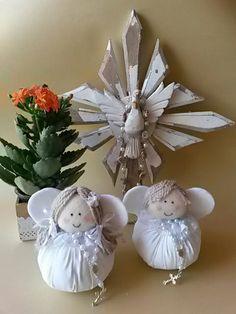 Anjinhos  Lembrancinha de Batizado Branco e tercinho  Whast 35-991074111