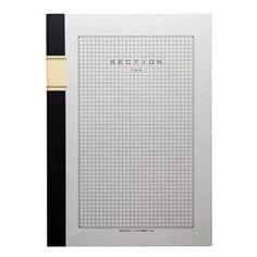 Japanese Grid Notebook