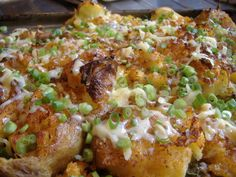 """Roadkill"" potatoes..I'm going to bring these to a Hillbilly Party I was invited…"