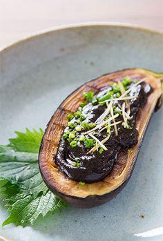 Miso Glazed Eggplant (Nasu Dengaku) Recipe