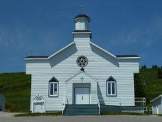 Cape St. George (église Our Lady of Cape), Terre-Neuve-et-Labrador, Canada (48.484035, -59.191466)