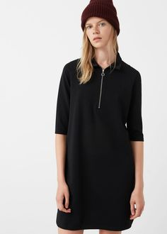 Zipped dress - Dresses for Woman | MANGO USA