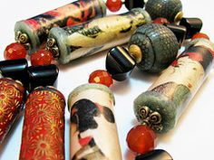 Becoming Geisha Beads 5  from DivaDesigns1