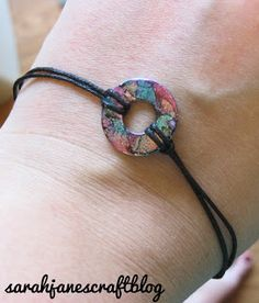 Sarah Jane's Craft Blog: Alcohol Ink Washer Bracelet