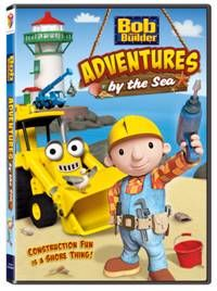 Bob and his Can-Do Crew are making waves and having fun in five new, sea-themed adventures in construction in Bob the Builder™: Adventures by the Sea, sailing onto DVD, Digital Download and On Demand May 22, 2012 from Lionsgate and HIT Entertainment. From facing fears, correcting mistakes, doing good work and always getting the job done, Bob's the man and when you're on his team, life's a beach!