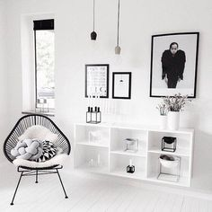 See more images from our 50 favorite scandinavian design inspired interiors on domino.com