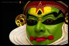 Week 23:: Kathakali face painting example