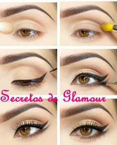 Como hacer un cat eye doble