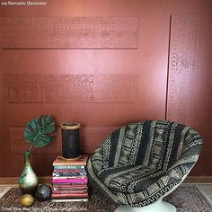 We've taken geometric stencils to a new level! Our Tribal Vibe Allover Wall Stencil is inspired by the many geometric shapes found in African art. Add an Afro-chic touch to any room with this modern take on traditional motifs.