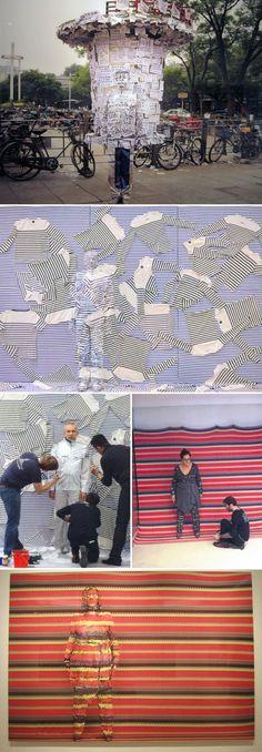 Liu Bolin - Lost in Art