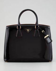 Parabole Spazzolato Tote Bag, Nero by Prada at Neiman Marcus.
