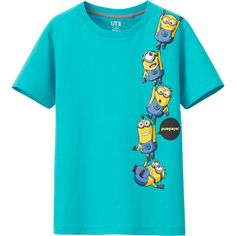 BOYS MINION MADE SHORT SLEEVE GRAPHIC T SHIRT
