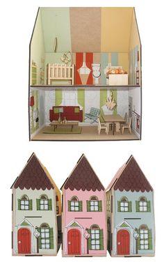 casas de muñecas de carton - Buscar con Google
