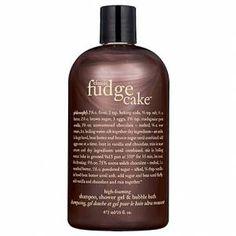 Philosophy's Fudge Cake shower gel