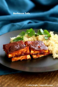 Barbecue Tofu from Healthier Steps: 125 Gluten-Free Vegan Recipes – Review + GIVEAWAY! January 20, 2015 By Richa 59 Comments
