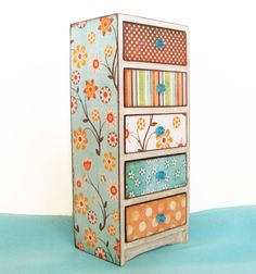Jewelry Box Teal Tranquility. $37.99, via Etsy.
