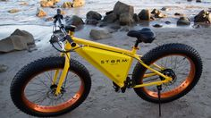 Storm eBike - I'm not totally sure about  this, but at least it takes a bit of a fresher look at electric powered transport....K