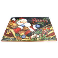 Tabletop Night Before Christmas Platter Tabletop