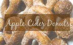 Apple Cider Donuts for Days - Inga Krohn Apple Cider Donuts, Donut Recipes, Day, Cake Donut Recipes