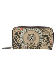 http://www.hottopic.com/hottopic/Accessories/Bags/Disney Alice In Wonderland Clock Zip Wallet-10299232.jsp
