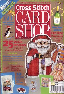 JOY TO ALL: Cross Stitch Card Shop # 04 # Jan-Feb,1999