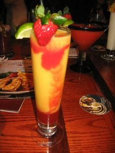 Berry Mango Daiquiri at Red Lobster= Yuuuuummy!