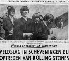 Wat gebeurde er in het verleden op 8 augustus? 1964 – De Rolling Stones treden voor het eerst in Nederland op, maar het concert in het Kurhaus wordt snel afgebroken na gewelddadigheden. Als deel van hun 3rd British Tour traden de Stones voor het eerst in Nederland op, in het Kurhaus in Scheveningen. De uitzinnige fans en de hard optredende politie zorgden ervoor dat de Stones al tijdens het vijfde nummer het optreden moesten staken.