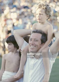 Andy Williams and family during Bob Hope's Desert Classic Golf Tournament at Palm Springs, CA in Palm Springs, California, United States. Classic Golf, Andy Williams, 60s Music, Bob Hope, Deserts, Folk, Couple Photos, Image, Couple Shots