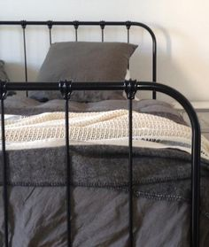 "Like the ""Scout"" Cast Iron bed before it, ""Tilly"" is an authentic and beautifully hand-crafted wrought Iron bed. A bespoke Cast Iron bed made in Australia. Scout."
