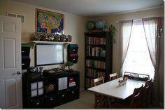 great homeschool room