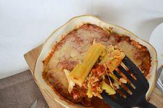 frisch aus dem Ofen - Cannelloni mit Wirsing-Käse-Füllung