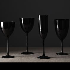 Shown: Palais Black Stemware. 50% off on selected stemware this weekend! Details in the image. http://noritakechina.com/drinkware/crystal-stemware.html/