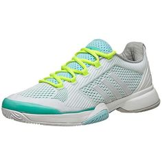 new product 898c0 4fd5d Adidas Women s 2015 Stella Barricade Green White