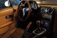 Mazda Miata MX5 Interior leather