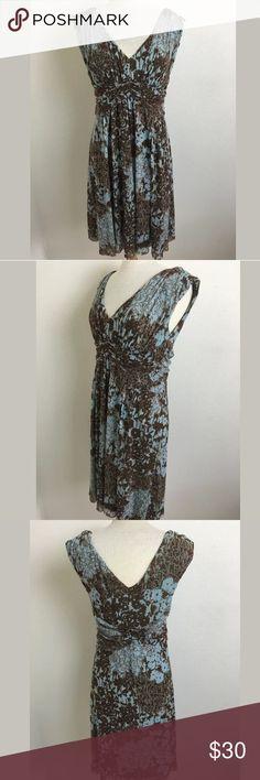 Weston Wear dress SKU: 14472 Length Shoulder To Hem: 39 Bust: 40 Waist: 32 Fabric Content: 100% Nylon Anthropologie Dresses