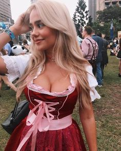 galanikolic 5 1 2018 9 58 28 251 Gala Nikolic is a lot of party in a little package Photos) Oktoberfest Outfit, German Girls, German Women, Octoberfest Girls, Beer Maid, Beer Girl, Dirndl Dress, Gorgeous Blonde, Girls Image