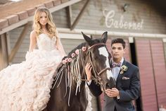 Giracci Vineyards Wedding Bride and Groom Cabernet Barn with the Groom Wearing a Navy Tuxedo with pink plaid bow tie
