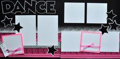 DANCE - 12x12 Scrapbook Page Kit