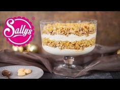 Sallys Rezepte - Apfel Karamell Trifle / Weihnachts-Schicht-Dessert / Buffet Rezept