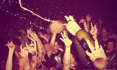 Poppin' champagne... livin' life in the fast lane... i won't change ;)