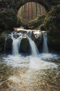 myprettyuniverse: Mullerthal falls, Luxembourg by Baltramaitis on 500px