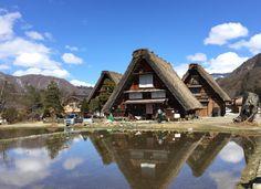 Maisons au toit de chaume de Shirakawa-go, département de Gifu.
