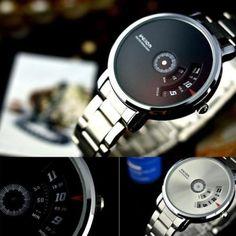 Fashion-Men-039-s-Creative-Stainless-Steel-Military-Sport-Analog-Quartz-Wrist-Watch