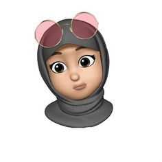 This is one of my favourite Memoji! Emoji Wallpaper, Cute Disney Wallpaper, Cute Cartoon Wallpapers, Wallpaper Iphone Cute, Panda Wallpapers, Iphone Png, Emoji Photo, Hijab Drawing, Islamic Cartoon