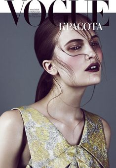 Vogue Russia Beauty Opener July 2012  Alla Kostromichova by Emma Tempest