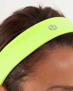 Lululemon slipless headband. They really do stay in place <3