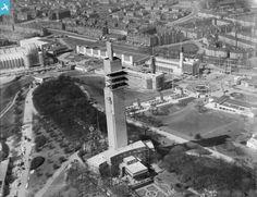 Tower of Empire, 1938 Empire Exhibition, Bellahouston Park, Glasgow, Green Farm, High Road, Glasgow Scotland, Historical Photos, Paris Skyline, Empire, Past, Tower, History