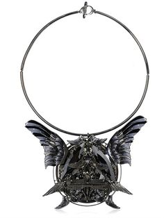 HEAVEN TANUDIREDJA - ROUND WINGS MEDALLION - LUISAVIAROMA - LUXURY SHOPPING WORLDWIDE SHIPPING - FLORENCE