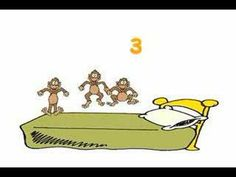 """""""5 Little Monkeys"""" - Kid's LOVE to sing along/count with this video!"""