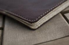 Surface RT / Pro Leder Tasche / Hülle  SLIDER von filzstueck, $99,00